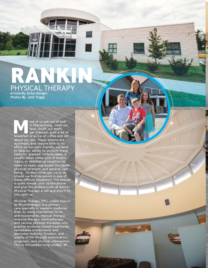 Rankin PT Featured in Around the Panhandle Magazine Image
