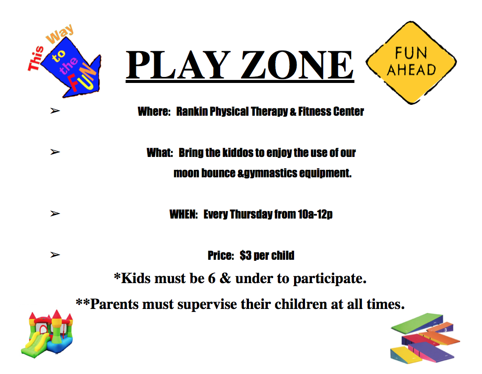 PLAY ZONE at Rankin Physical Therapy & Fitness Center Image